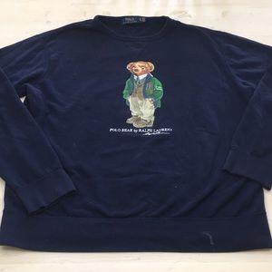 Polo by Ralph Lauren VTG teddy bear sweatshirt XL
